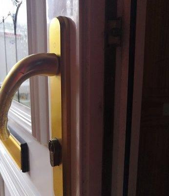 upvc door lock floppy handles
